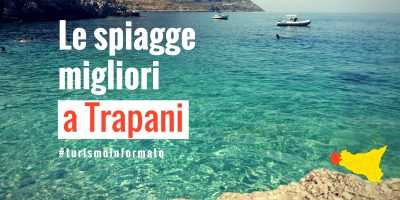Questa immagine mostra la copertina e il titolo dell'articolo Spiagge migliori della città di Trapani