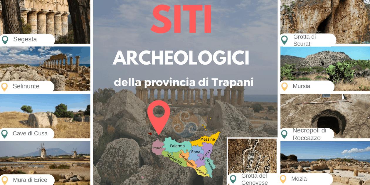 Itinerari turistici archeologici a Trapani e dintorni