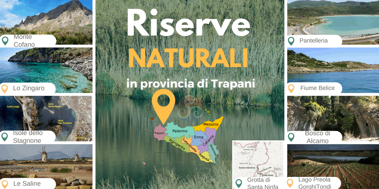 Riserve naturali nella Sicilia occidentale