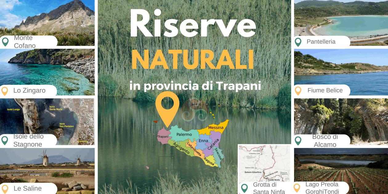 Riserve naturali nella Sicilia occidentale